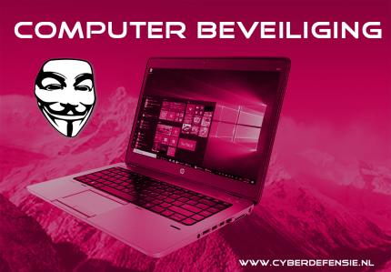 Computer beveiliging is van levensbelang voor het veilig houden van je data